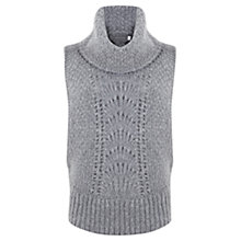 Buy Mint Velvet Stitch Tabard Knit, Grey Online at johnlewis.com
