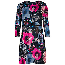 Buy Ted Baker Cedina Poppy Print Dress, Navy Online at johnlewis.com