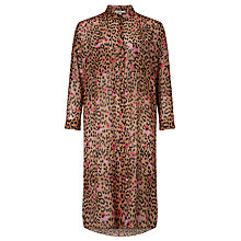 Buy Somerset by Alice Temperley Leopard Print Shirt Dress, Multi Online at johnlewis.com