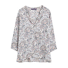 Buy Violeta by Mango Floral Print Blouse, Multi Online at johnlewis.com