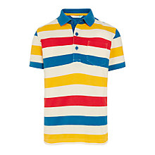 Buy John Lewis Boys' Stripe Polo Top, Multi Online at johnlewis.com