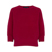 Buy French Connection Spring Mozart Round Neck Jumper, Morello Online at johnlewis.com