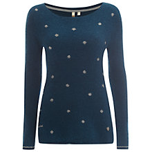 Buy White Stuff Cha Cha Sweater, Teal Online at johnlewis.com