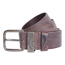 Buy Diesel B-Frag Mohawk Leather Belt, Brown Online at johnlewis.com