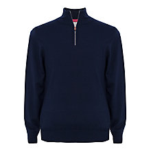 Buy Thomas Pink Geoffrey Merino Zip Neck Jumper Online at johnlewis.com
