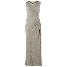 Buy Gina Bacconi Beaded Scallop Long Lace Dress Online at johnlewis.com