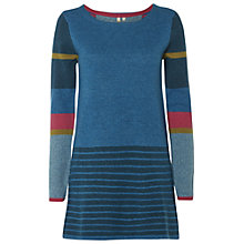 Buy White Stuff New Jitterbug Tunic Jumper, Teal/Multi Online at johnlewis.com