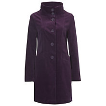 Buy White Stuff Mossy Thatch Velvet Coat Online at johnlewis.com