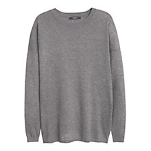 Buy Mango Essential Cotton-Blend Jumper Online at johnlewis.com