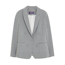 Buy Violeta by Mango Structured Blazer, Grey Online at johnlewis.com