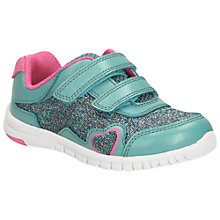 Buy Clarks Children's Azon Maze Rip-Tape Shoes Online at johnlewis.com
