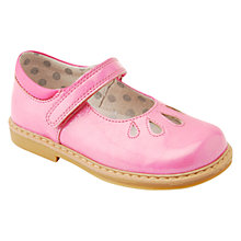 Buy Start-rite Children's Tamara Rip-Tape First Walking Shoes, Bright Pink Online at johnlewis.com