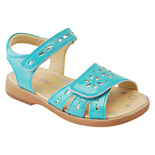 Buy Start-rite Children's Honeysuckle Rip-Tape Patent Sandals Online at johnlewis.com