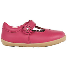 Buy Bobux Children's Reign T-Bar Rip-Tape Shoes Online at johnlewis.com