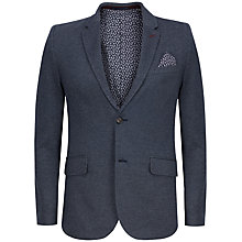 Buy Ted Baker Myblazr Mini Design Jersey Blazer, Blue Online at johnlewis.com