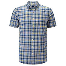 Buy Gant Spinnaker Heather Poplin Short Sleeve Shirt Online at johnlewis.com