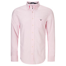 Buy Gant Regular Fit Plain Oxford Shirt Online at johnlewis.com