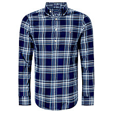 Buy Gant Telltail Madras Check Shirt Online at johnlewis.com