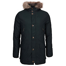 Buy Ted Baker Geddes Parka Jacket, Dark Green Online at johnlewis.com