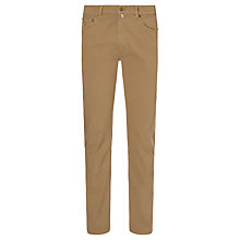 Buy Gant Micro Twill Regular Straight Trousers Online at johnlewis.com