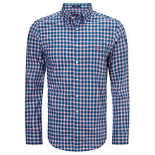 Buy Gant Dog Leg Poplin Check Shirt, Multi Online at johnlewis.com