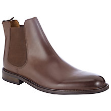 Buy John Lewis Taylor Leather Chelsea Boots, Brown Online at johnlewis.com