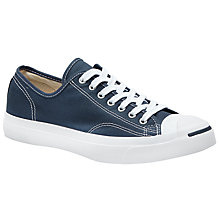 Buy Converse Jack Purcell Lace-Up Canvas Trainers Online at johnlewis.com