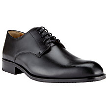 Buy John Lewis Harrison Leather Lace-Up Derby Shoes, Black Online at johnlewis.com