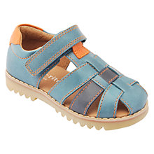 Buy Start-rite Children's Climb Leather Rip-Tape Sandals, Blue Online at johnlewis.com