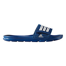 Buy Adidas Children's Halva 4 Slides Online at johnlewis.com
