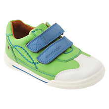 Buy Start-rite Children's Flexy Soft Turin Rip-Tape Walking Shoes, Green Online at johnlewis.com