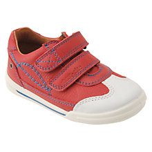 Buy Start-rite Children's Flexy Soft Turin Rip-Tape Walking Shoes, Red Online at johnlewis.com