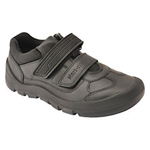 Buy Start-rite Children's Warrior Rip-Tape Shoes, Black Online at johnlewis.com