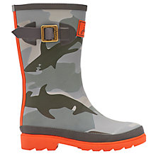 Buy Little Joule Shark Wellington Boots Online at johnlewis.com