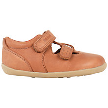 Buy Bobux Children's Jack & Jill Leather Rip-Tape Closed Sandals, Caramel Online at johnlewis.com