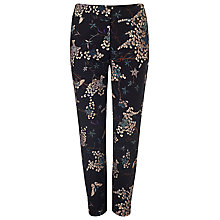 Buy Phase Eight Oriental Print Trousers, Teal/Multi Online at johnlewis.com