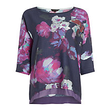 Buy Phase Eight Ashlyn Print Jumper, Indigo/Multi Online at johnlewis.com
