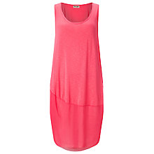 Buy Phase Eight Suki Silk Hem Dress, Geranium Online at johnlewis.com