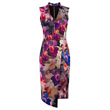 Buy Oasis Photographic Pencil Dress, Multi Online at johnlewis.com
