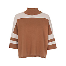 Buy French Connection Mozart Colour Block Jumper Online at johnlewis.com