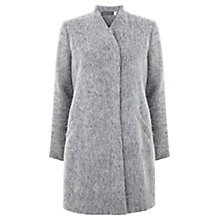 Buy Mint Velvet Textured Coat, Grey Online at johnlewis.com