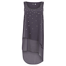 Buy Mint Velvet Droplet Sequin Vest, Grey Online at johnlewis.com