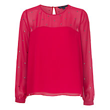 Buy French Connection Arctic Spell Blouse Online at johnlewis.com