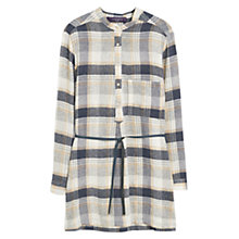 Buy Violeta by Mango Check Blouse, Multi Online at johnlewis.com