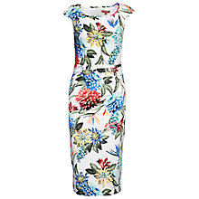 Buy Jolie Moi Floral Ruched Dress Online at johnlewis.com