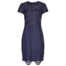 Buy Reiss Annora Lux Dress, Abyssal Blue Online at johnlewis.com