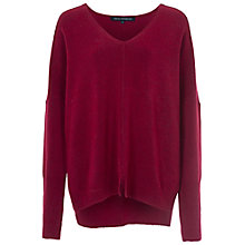 Buy French Connection Svhari Knitted Jumper, Morello Mel Online at johnlewis.com