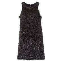 Buy French Connection Tinsel Treat Sleeveless Dress, Silver Online at johnlewis.com