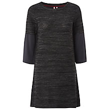 Buy White Stuff Longline Tunic Top, Grey Online at johnlewis.com
