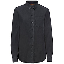 Buy Jaeger Denim Shirt, Grey Online at johnlewis.com